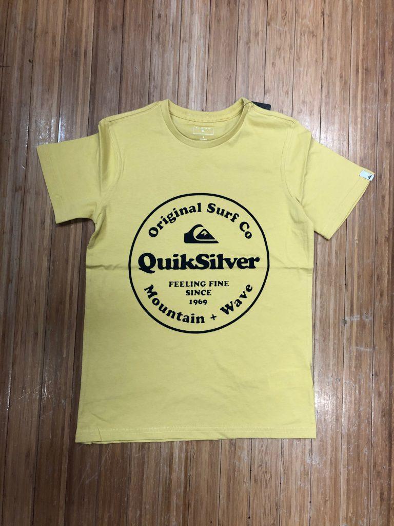 46845fb27e Quiksilver secret ingredients tee 8-14 mustard  29.99